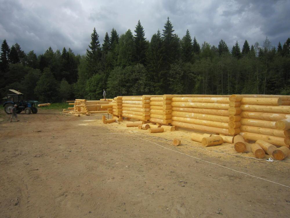 деревянные рубленные дома из рубленного бревна под ключ
